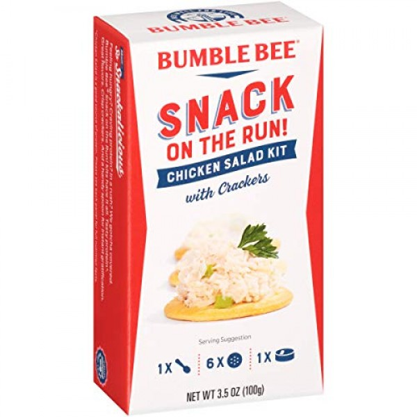 BUMBLE BEE Snack on the Run Chicken Salad with Crackers, Canned ...