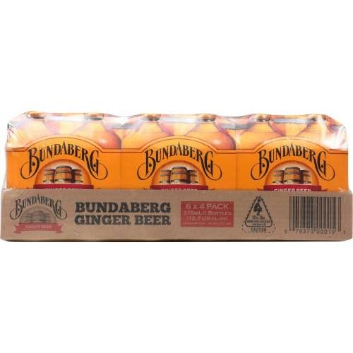 Bundaberg Soda Ginger Beer 1500.0 ML Pack of 12