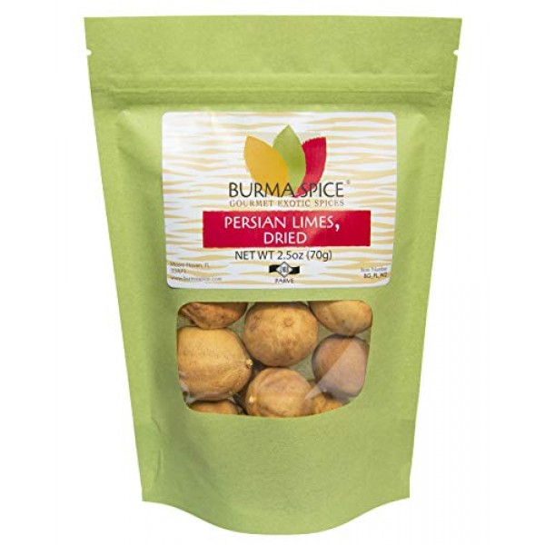 Dried Persian Limes, Whole | Limu Omani | Ideal for Seasoning ...