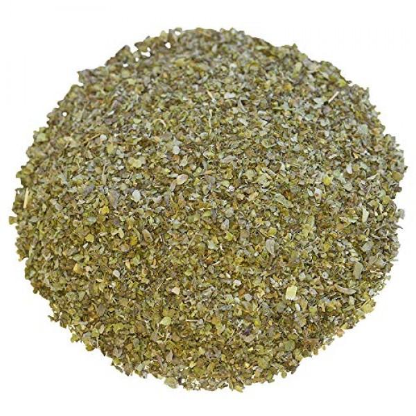 Marjoram Leaves   Dried Mediterranean Herb   Cut and Sifted 1.5 oz.