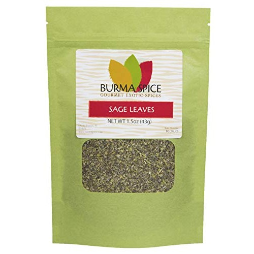 Sage Leaf   Peppery Aromatic Herb   Perfect for Sausages and Tea...