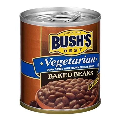 Bushs Baked Beans Vegetarian 8.3 OZ Pack of 12