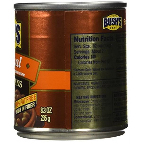 Bushs Best Original Baked Beans, Canned Beans, Baked Beans Cann...