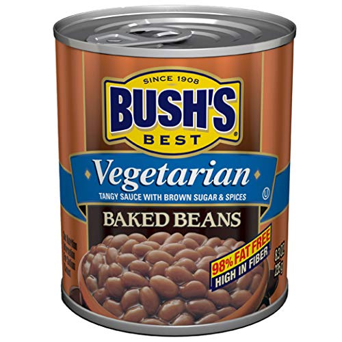 BUSH'S BEST Vegetarian Baked Beans, 8.3 Ounce Can (Pack of 12), ...