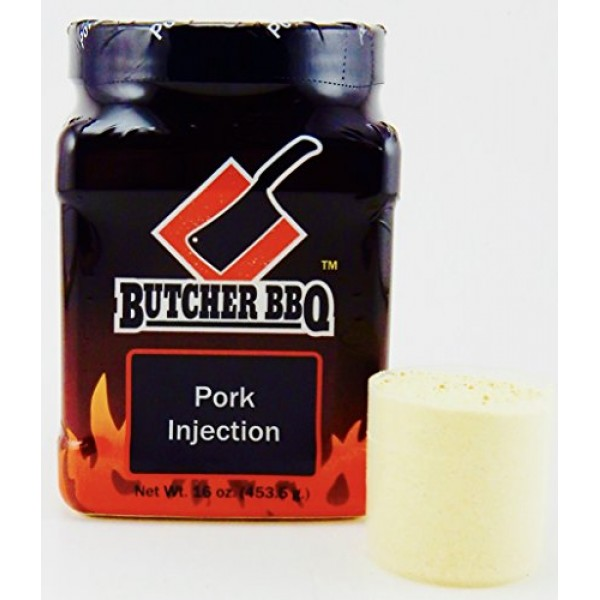 Butcher BBQ Original Pork Injection Marinade | giving Natural Fl...