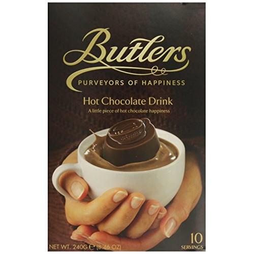 Butlers Chocolate Meltaways, Hot Chocolate Drink, 10 Servings