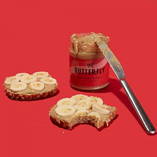 Cinnamon Vanilla Nut Butter - 9 oz Raw Organic Walnuts Cashew an...