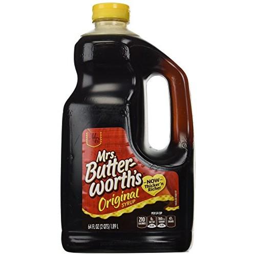 Mrs. Butterworths original syrup, Thick-n-Rich!,64 fl oz Jug,pa...