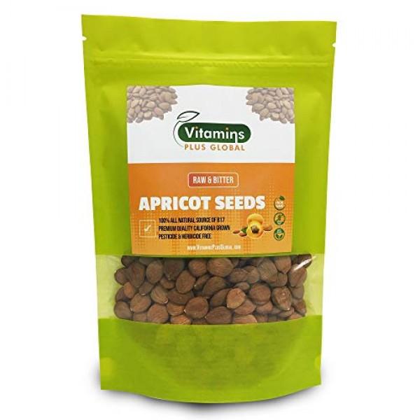 Bitter Apricot Seeds / Kernels, Natural Source of Vitamin B17, L...