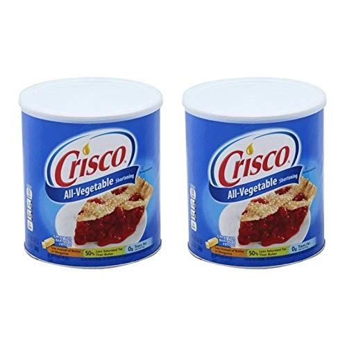 Crisco Vegetable Shortening, 48 fl oz Pack of 2
