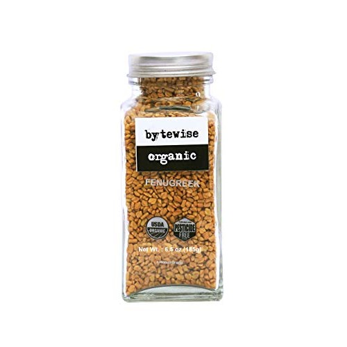 Bytewise Organic Fenugreek seeds / Methi, 6.5 Oz