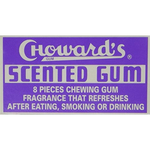 Chowards Scented Chewing Gum, Uniquely Refreshing Flavor - 8 Ta...