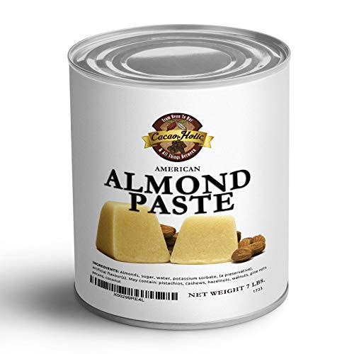 Cacaoholic - Almond Paste by American Almond   7 lb Can
