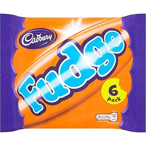 Cadbury Fudge 6 per pack - 147g