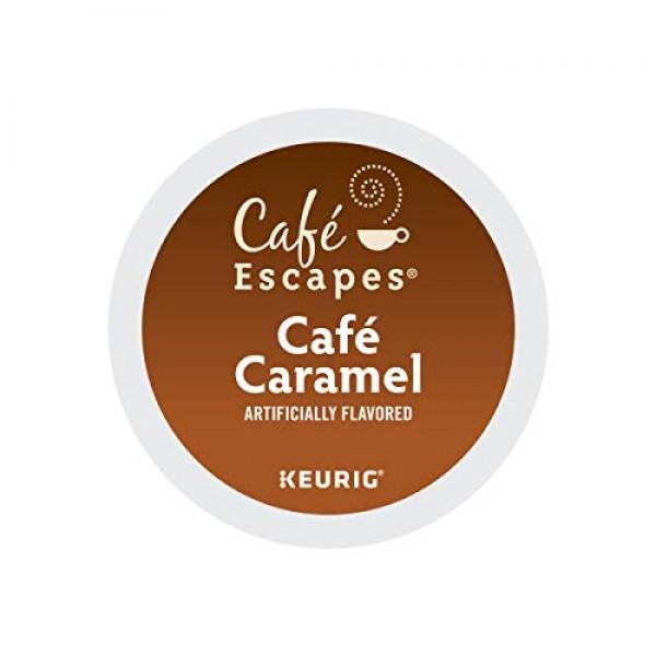 Café Escapes Café Caramel, Keurig Single-Serve K-Cup Pods, Flavo...