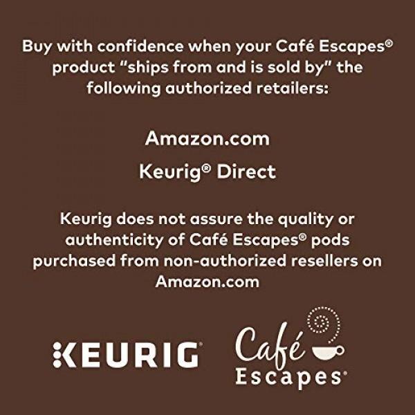 Café Escapes Chai Latte, Single-Serve Keurig K-Cup Pods, 72 Count