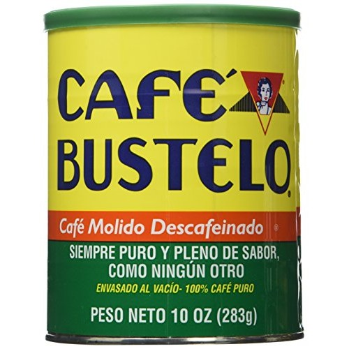 Cafe Bustelo Coffee Decaffeinated, 10-ounce Cans Pack of 4
