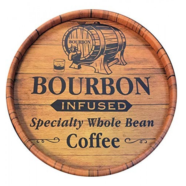 25oz Don Pablo Bourbon Infused Specialty Coffee - Whole Bean Cof...