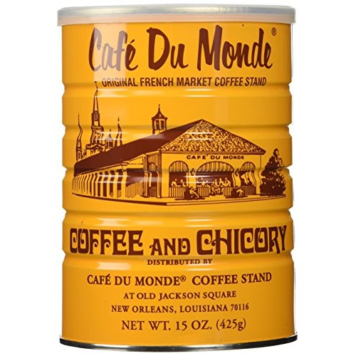 Half a Dozen Cans 6 Cans of Coffee Du Monde - 15 oz. cans