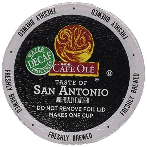 H.E.B Cafe Ole Taste of Texas San Antonio Single Serve Coffee Cu...
