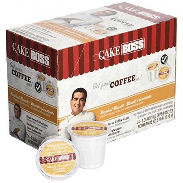 Cake Boss Coffee, Hazelnut Biscotti, 24 Count