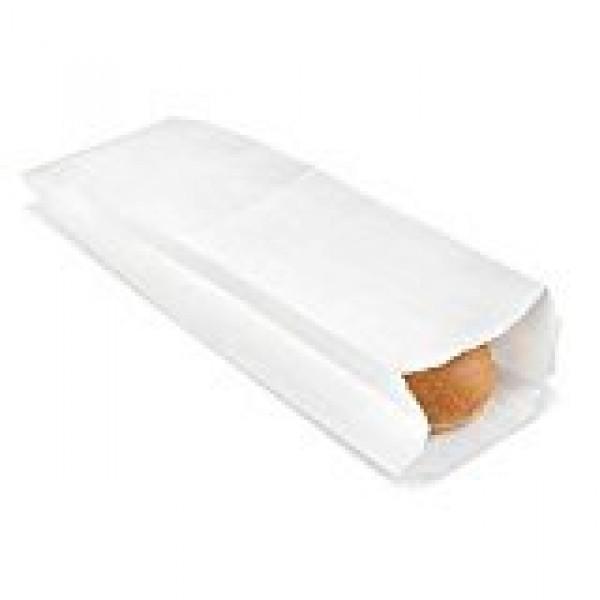CakeSupplyShop Packaged - 5 1/4 x 3 1/4 x 18 Plain White Pape...