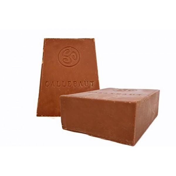 Callebaut Finest Belgian Milk Chocolate Blocks - Approximately 1...