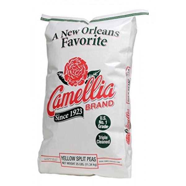 Camellia Brand Yellow Split Peas 25 Pound Bag