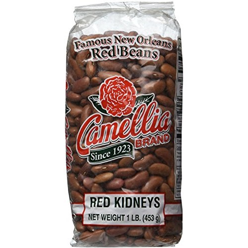 Camellia Red Kidney Beans 1 Lb Pack of 2