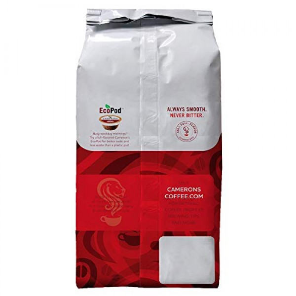 Camerons Coffee Roasted Ground Coffee Bag, Flavored, French Van...