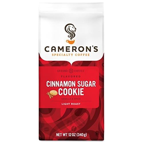 Camerons Coffee Roasted Ground Coffee Bag, Flavored, Cinnamon S...