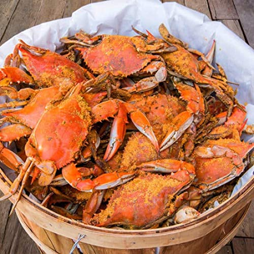 Camerons Seafood Large Maryland Blue Crabs Males Jimmys Steamed...