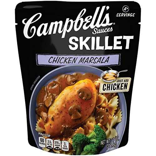 Campbells Skillet Sauces Chicken Marsala, 11 Ounce Packaging M...