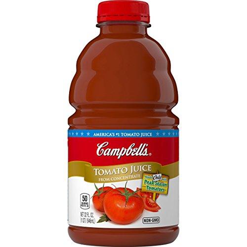 Campbells Tomato Juice, 32 Fluid Ounce