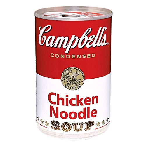 Campbells, Condensed Chicken Noodle Soup, 10.75oz Can Pack of 6