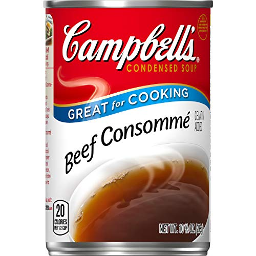 Campbells Condensed Consomme, Beef, 10.5 oz