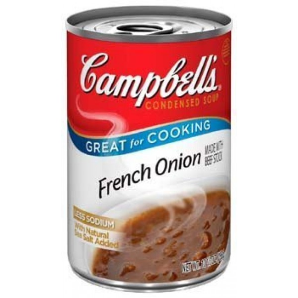 Campbells, Condensed French Onion Soup, 10.75oz Can Pack of 6