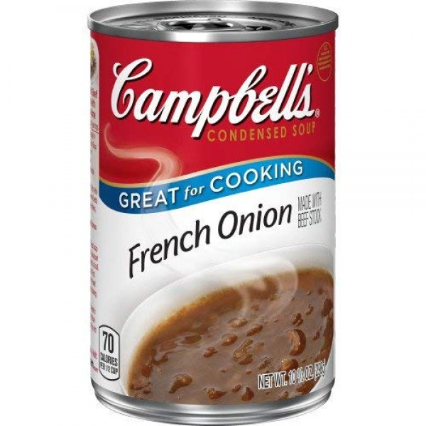 Campbells French Onion Condensed Soup 10.5 oz. Pack of 3