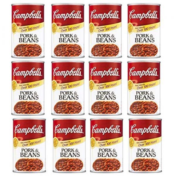 Campbells Pork & Beans 19.75 OZ Pack of 12