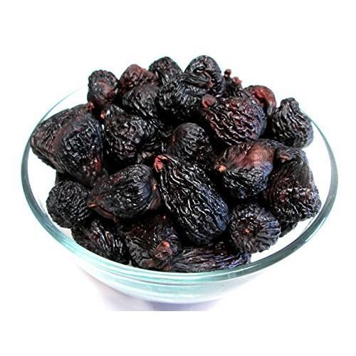 Dried Black Mission Figs,3 pound bag, US Grown