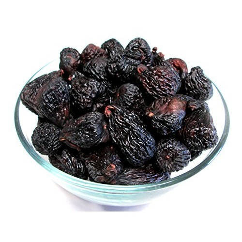 Dried Black Mission Figs, 5 pound bag, US Grown