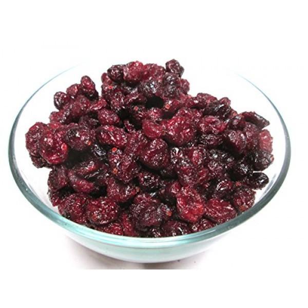 Dried Whole Cranberries, 5 pound bag. Tart Taste !