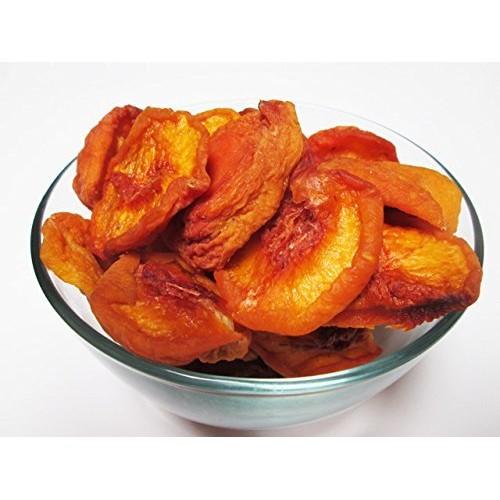 Sun Dried California Peaches, No Added Sugar, 5 LB bag