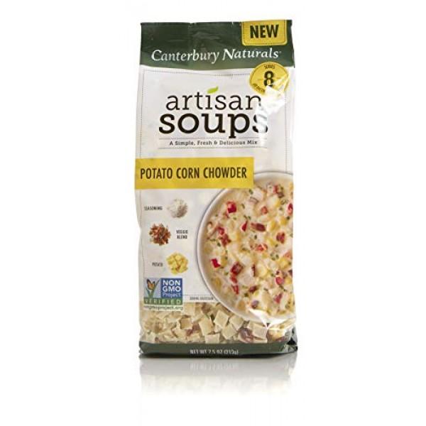 Canterbury Naturals Artisan Soup Mix, Potato Corn Chowder, 7.5 O...