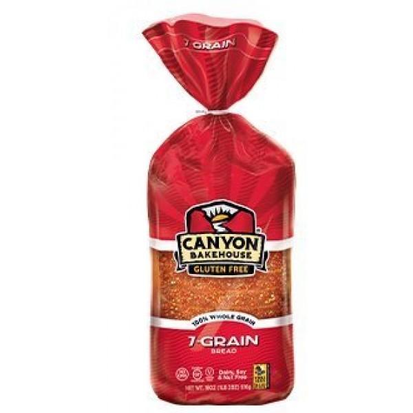 Canyon Bakehouse Gluten Free 7-Grain Sandwich Bread, 18 Oz. 10 ...