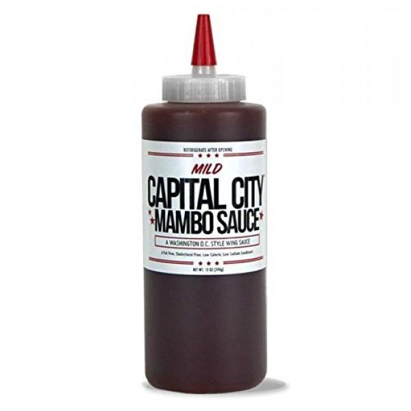 Capital City Mild Mambo Sauce - A Washington DC Wing Sauce 12 o...