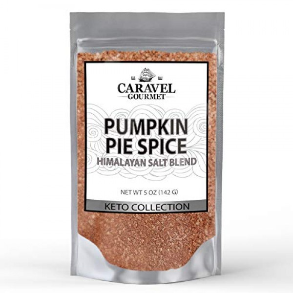 Pumpkin Pie Himalayan Pink Salt Blend - Cinnamon, Nutmeg, Ginger...