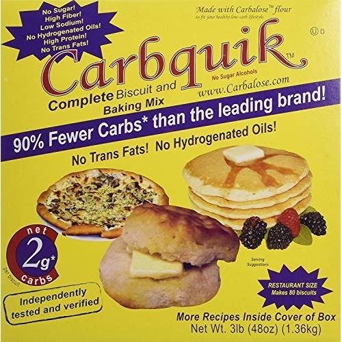 Carbquik Baking Biscuit Mix 48oz- Pack of 3