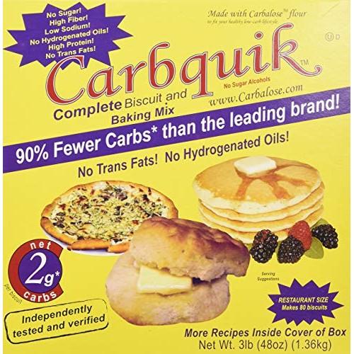 Carbquik Baking Mix, 3 lb 48 oz, 2 Pack