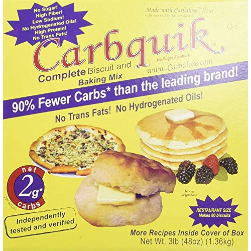 Carbquik Baking Mix, 3 Lbs - PACK OF 8